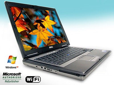Dell Latitude D620 Laptop Notebook 2.0Ghz Core 2 Duo 80Gb 2Gb XP DVD