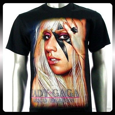Lady Gaga Pop Star Sexy Music Singer Men T shirt Sz L