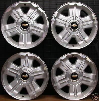 NEW Factory Chevy Suburban Silverado Tahoe Avalanche Chrome 20 Wheels