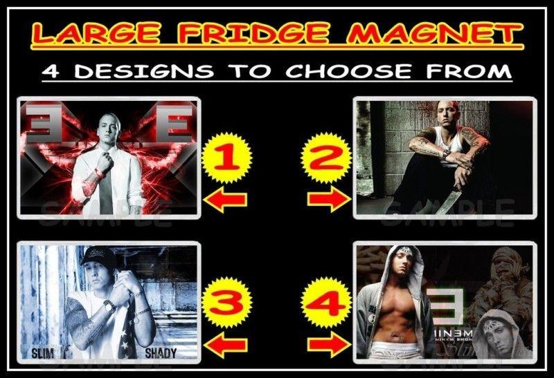 EMINEM MARSHALL MATHERS f10m LARGE FRIDGE MAGNET CHOICE OF 4