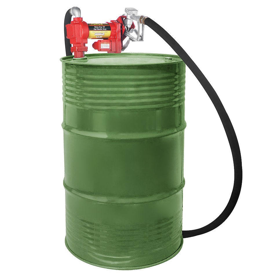 Pentagon Tools Pump Force 20 GPM 12 Volt Fuel Transfer Pump For Diesel