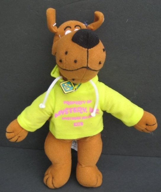 Hanna Barbera TOY FACTORY 26 SCOOBY DOO MYSTERY INC PLUSH STUFFED