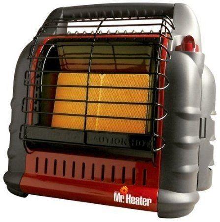 Heater 18,000 BTU Big Buddy Indoor Safe Portable LP Gas Propane Heater