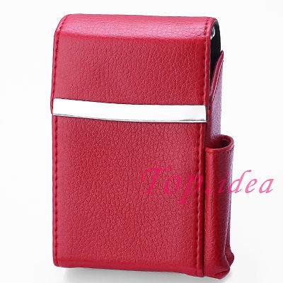 cigarette case with lighter in Cases