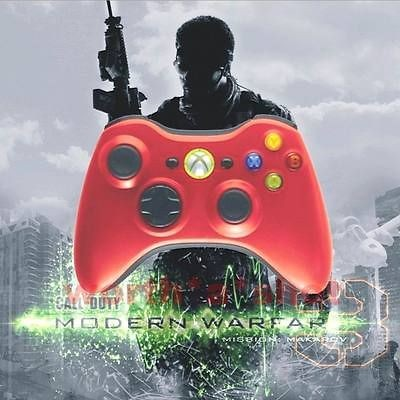 Xbox 360 Modded Rapid Fire Limited Red Controller 12 Mode Drop Shot