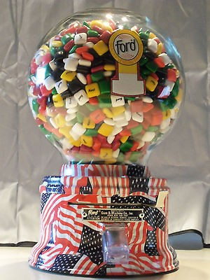 American Flag Design Ford Gum Machine