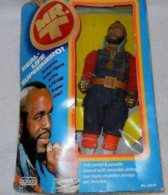 Mr T Real Life Superhero Authentic Action Figure Doll A Team