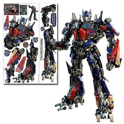 Transformers Optimus Prime Giant Peel & Stick Wall Mural Decal