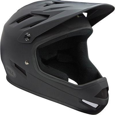 2013 Bell Sanction MTB DH Full Face Bike Crash Helmet matt black