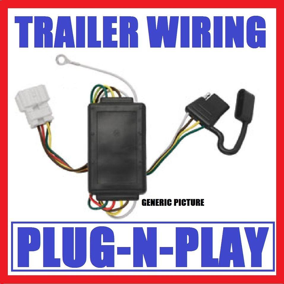 Wiring Fits 07 09 Pontiac Torrent Chevy Equinox Trailer Hitch
