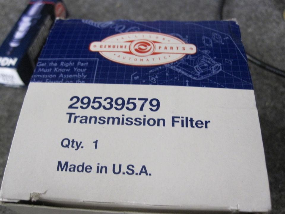 NEW ALLISON TRANSMISSION FILTER # 29539579 GM 2000 2009