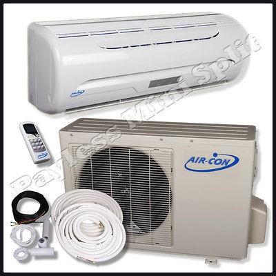 Mini Split Air Conditioner Heat Pump Air Con 9,000 btu AC Unit