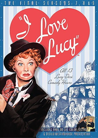 Love Lucy   The Complete 7th, 8th and 9th Seasons DVD, 2007, 4 Disc