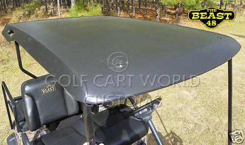 EZGO TXT Golf Cart Top/Canopy black