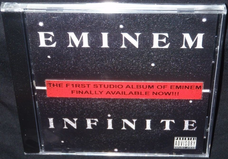 EMINEM INFINITE ULTRA RARE NEW SEALED OFFICIAL CD PRESSING PROOF KON