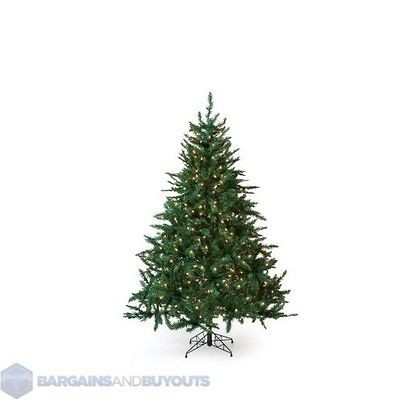 348b58605f7 Holiday Classic Pine 5.5 Ft. Full Pre lit Christmas Tree Clear Lights
