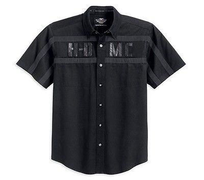harley davidson garage shirt in Casual Shirts