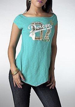 DEREON GREEN WOMENS SHIRT TOP HIGH BACK BRAND NEW S M L XL BEYONCE