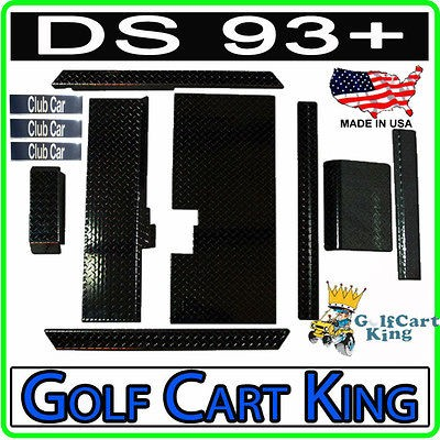 Club Car Golf Car Diamond Plate Accessories Kit w/Floor