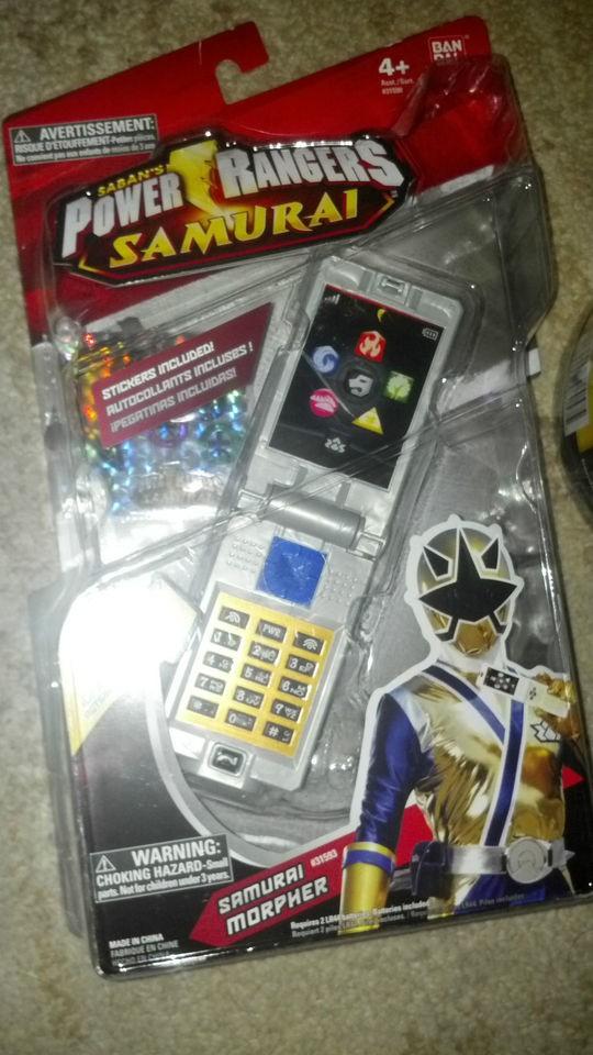 Power Rangers Samurai Samurai Morpher. NIB. NEW. ORIGINAL VERSION