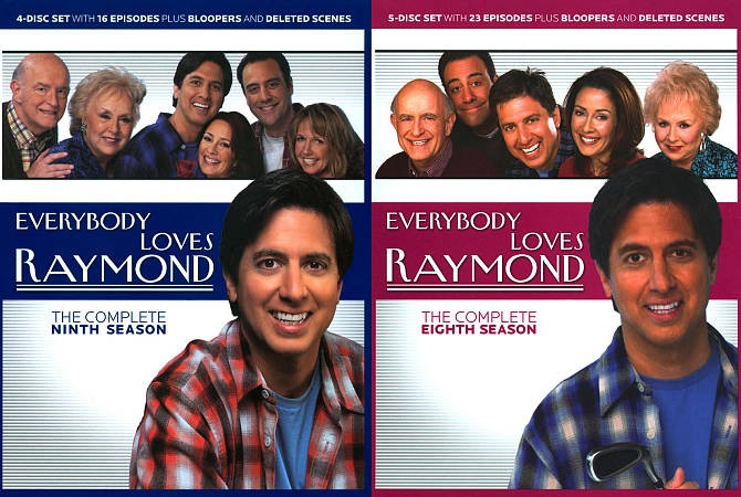 Everybody Loves Raymond The Complete Seasons 8 9 DVD, 2010, 9 Disc Set