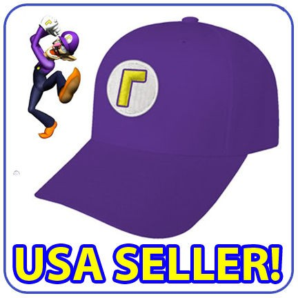 new super mario luigi costume cap war wario waluigi hat