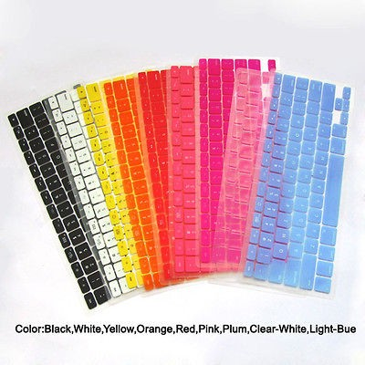 1pcs silicone keyboard cover skin for macbook pro 13 3