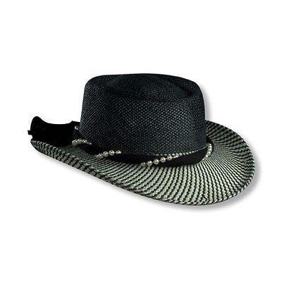 Newly listed GIFT * SCALA BLACK TOYO STRAW HAT * NEW WIDE BRIM CHURCH