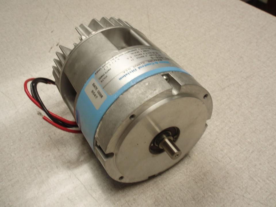 Pacific Scientific Honeywell Servo Motor Encoder 24vdc Low Inertia