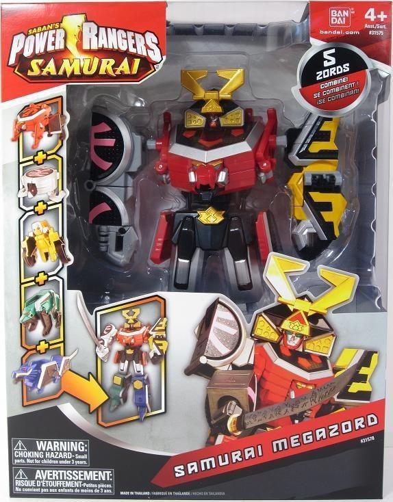 power rangers samurai zord in TV, Movie & Video Games