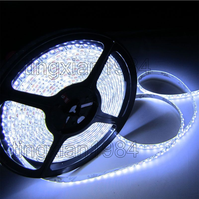 16FT 3528 SMD 5M 600 led Cold White Waterproof LED flexible Light