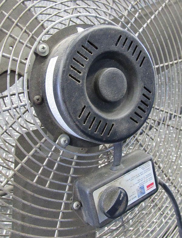Commercial Air Circulator : Dayton heavy duty industrial air circulator fan
