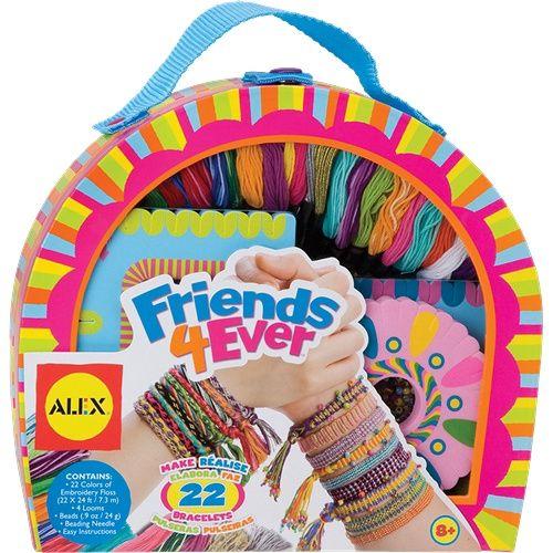alex toys friends 4 ever bracelet making kit 737wx makes 22 friendship