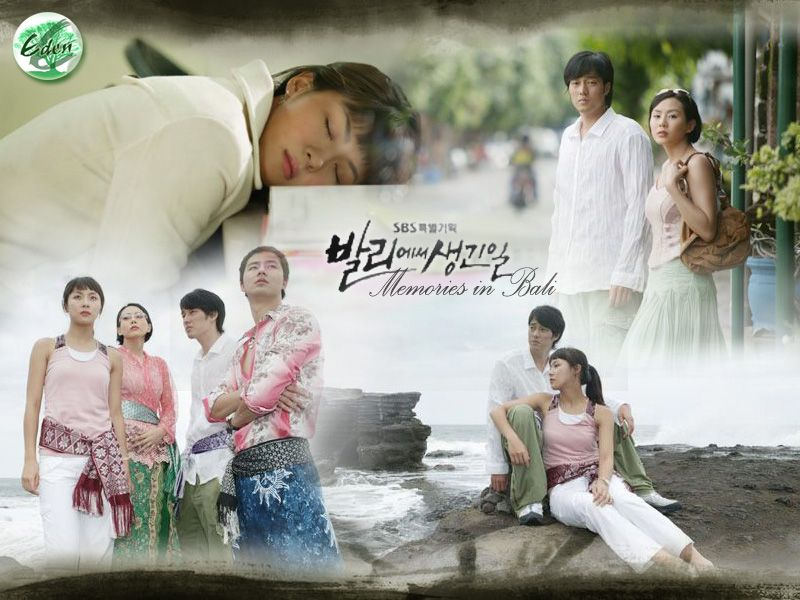 Memories of Bali Korean Drama Complete 8 Disc Set with English