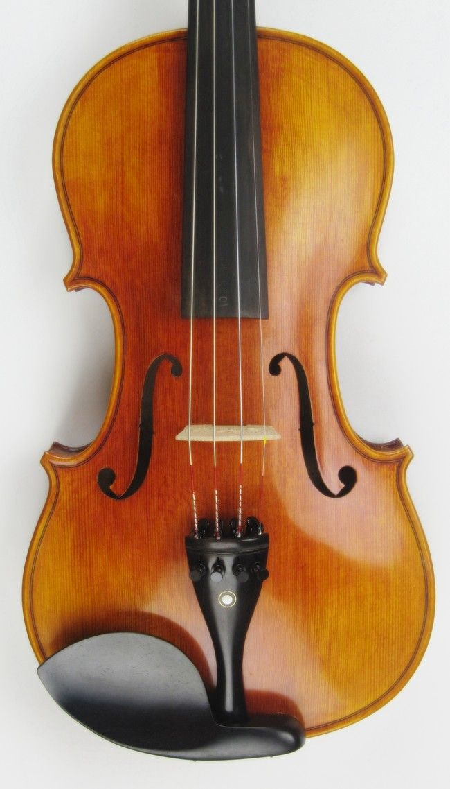 Made Violin Labeled Antonio Stradivarius 1718 Pirastro Strings