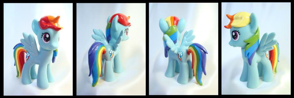 Custom MLP FIM Set My Little Pony Friendship Is Magic