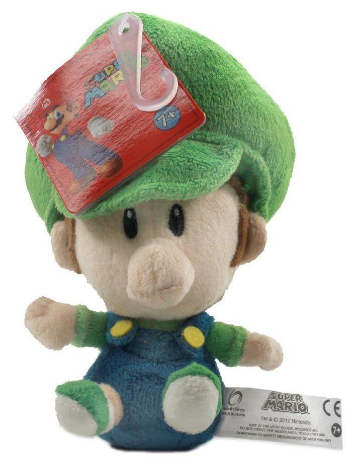 Super Mario Bros Baby Plush Set of 3 With Mario Luigi & Peach *New*