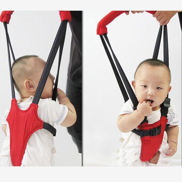 Harness Strap Keeper Infant Walk Assistant Walking Wings Red