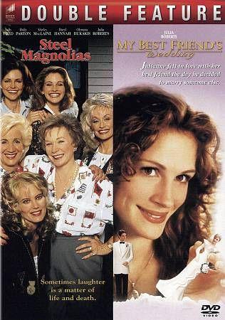 My Best Friends Wedding Steel Magnolias DVD, 2010, 2 Disc Set