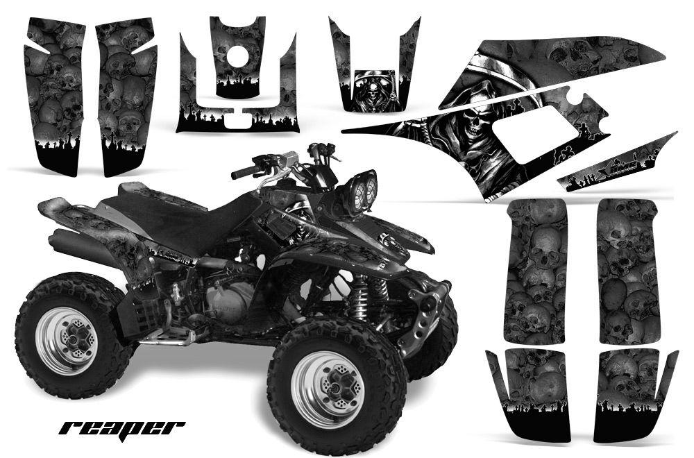 AMR Racing ATV Quad Graphic Kit Yamaha Warrior Deco 350 Part Decals