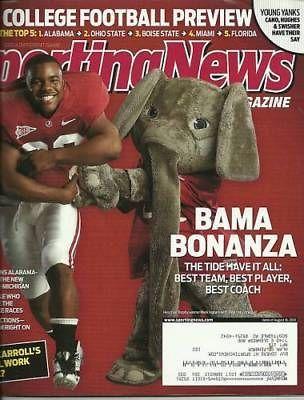 Alabama Crimson Tide Mark Ingram 2010 Sporting News Bama Bonanza Roll