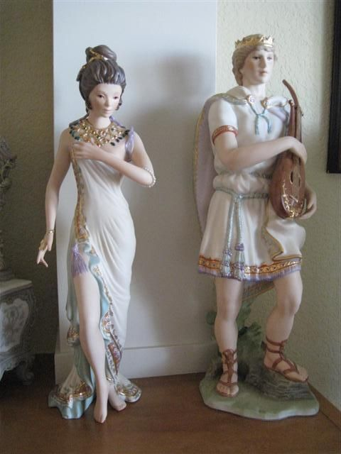 RARE Cybis Bathsheba King David Figurines Limited Ed