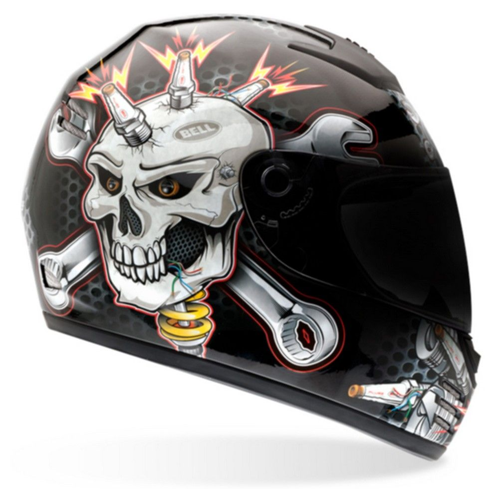 Bell Arrow Ignite Full Face Motorcycle Helmet Size XS XXL
