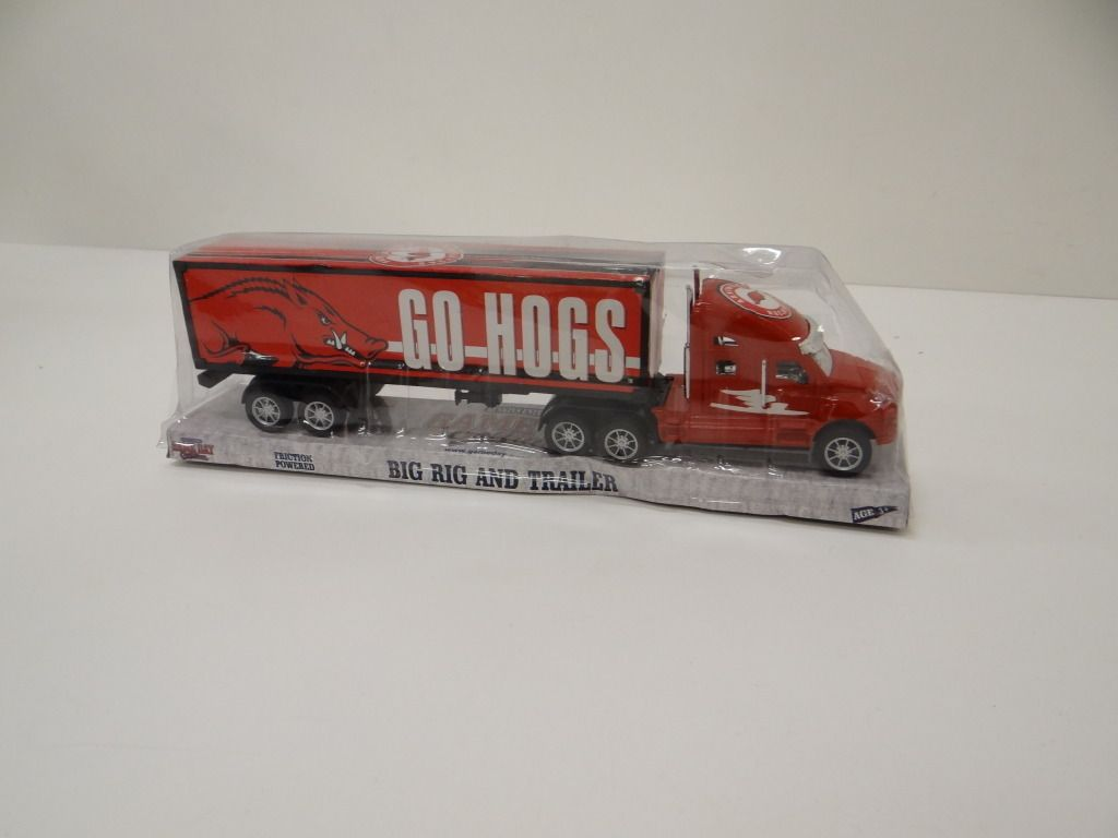 NCAA Arkansas Razorbacks Big Rig Toy Truck