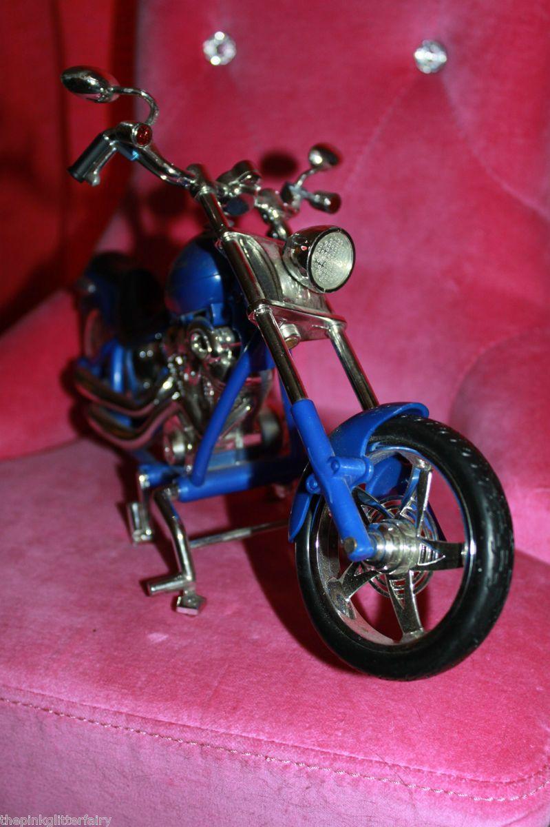 Bratz Boyz Doll Size Blue Black Harley Davidson Look Motorcycle Bike