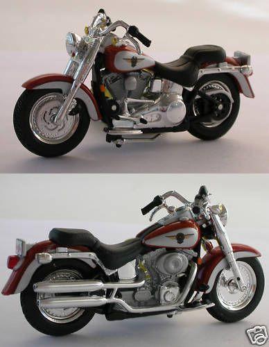 24 Scale Harley Davidson 2000 FLSTF Fat Boy G Scale