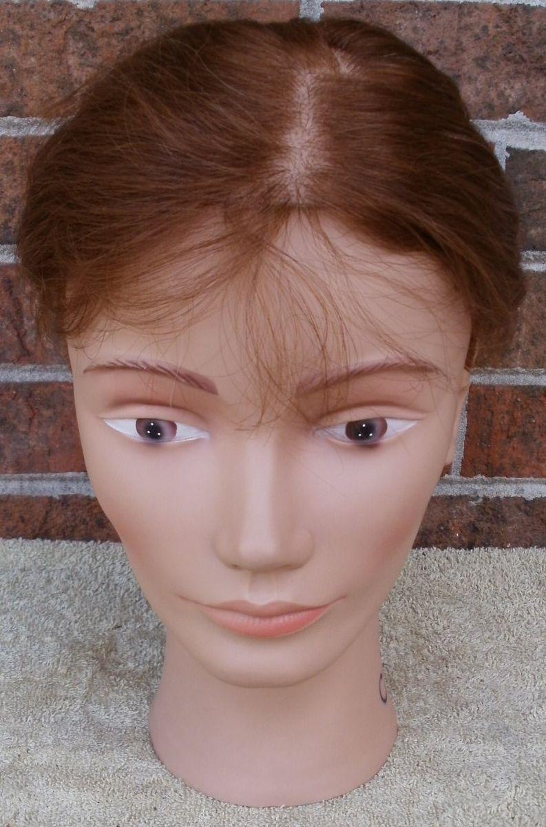 Pivot Point Cosmetology Mannequin Head Human Hair HEIDI DISPLAY HAT