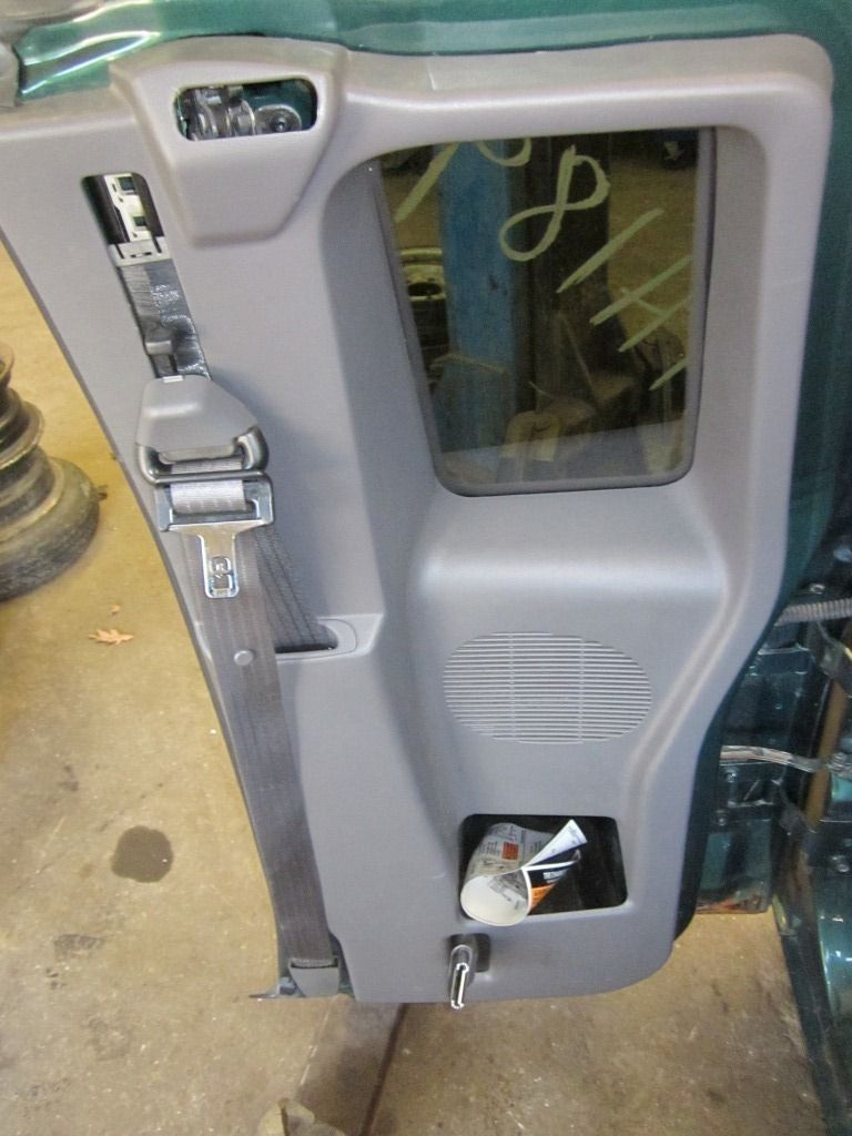 99 Ford Ranger Rear Door Trim Panel