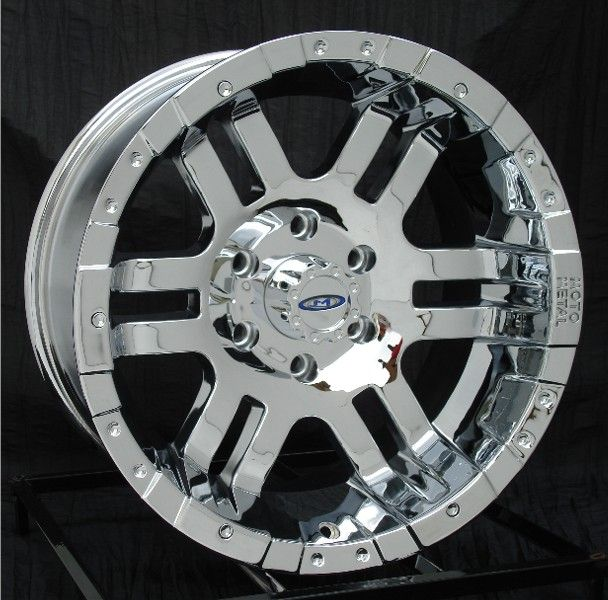 16 inch Chrome Wheels Rims Chevy Truck GMC 6 Lug 1500