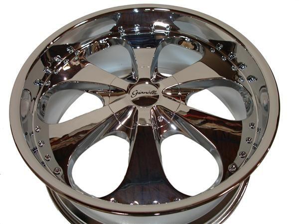 22 Chrome Wheels Rims Chevy Tahoe GMC Yukon 1500 5LUG 5x127 5x135